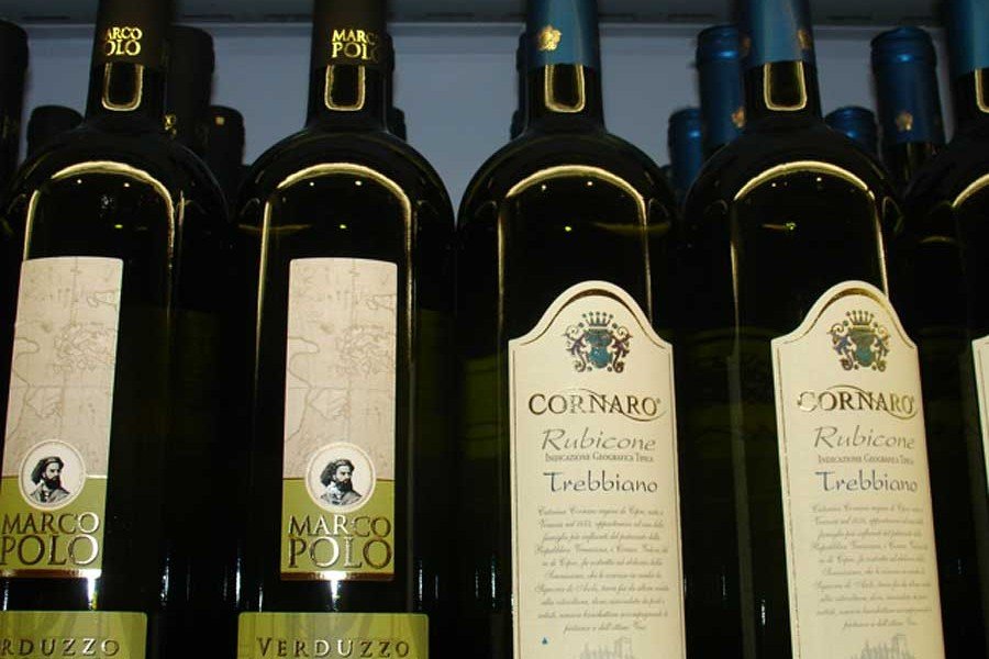 Verduzzo and Trebbiano Rubicone wines