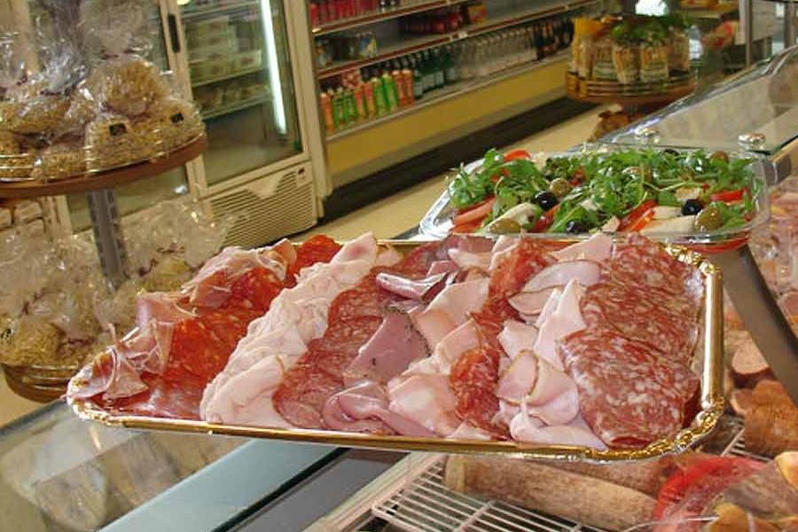 Italian meat platter