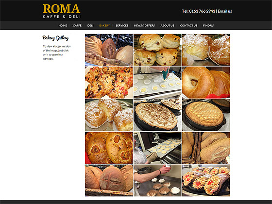 Roma Bakery Gallery